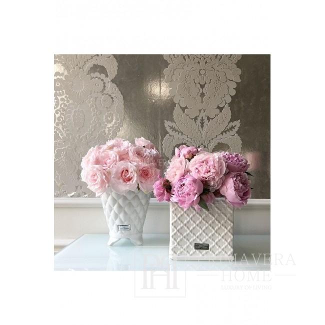 White ceramic pot Lene Bjerre 20 cm