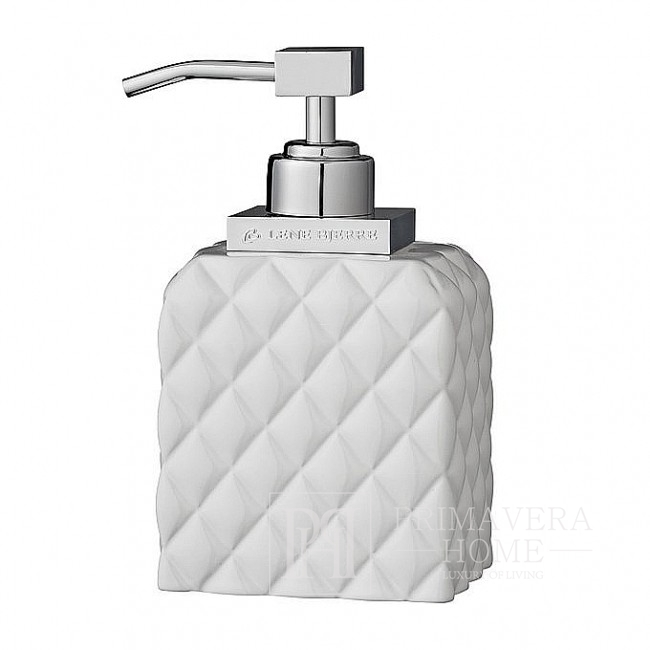 White soap dispenser 16cm Portia dispenser Lene Bjerre