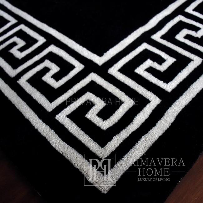 Apollo carpet Black and white