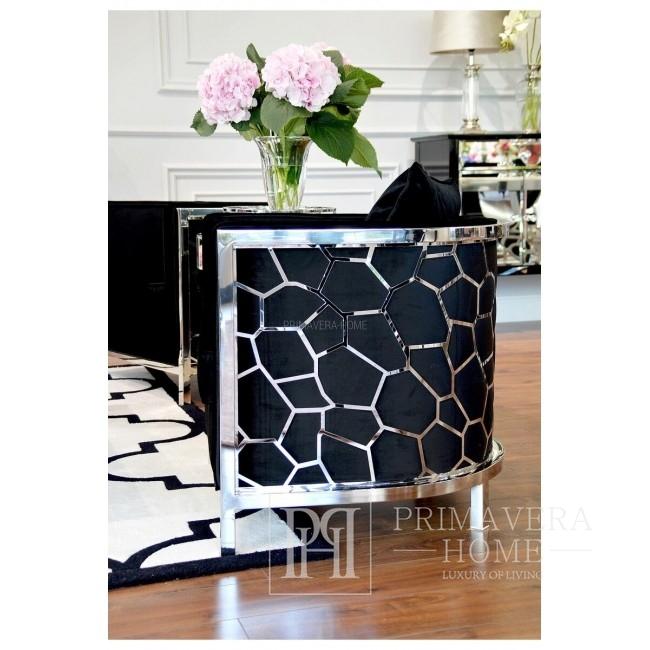 New York glamour chair COSMOPOLITAN modern black