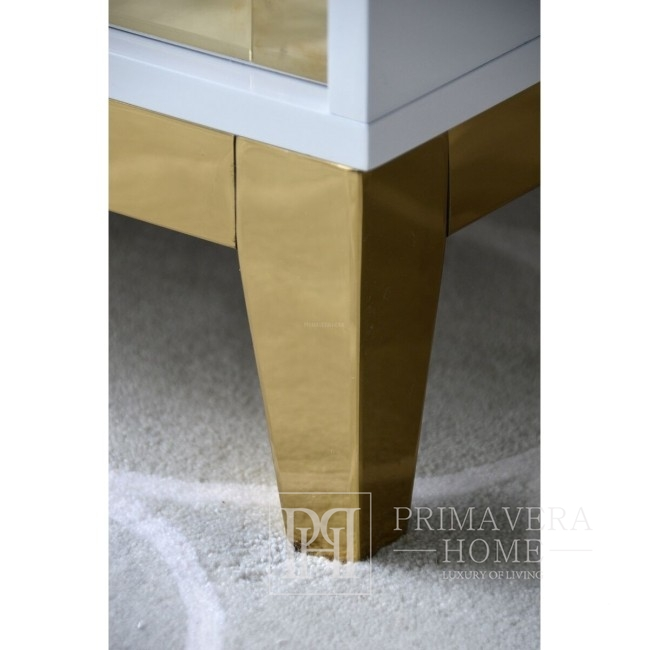 Lorenzo S Gold Glamouröser Nachttisch