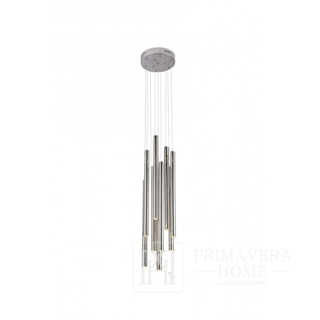 Ponsacco Hanging lamp average CHROM