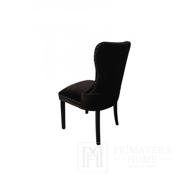 Moderner Holzstuhl aus Buche Bergamo 53x55x101