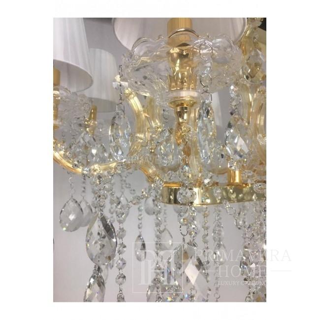 New York glamour chandelier MARIA TERESA L Gold