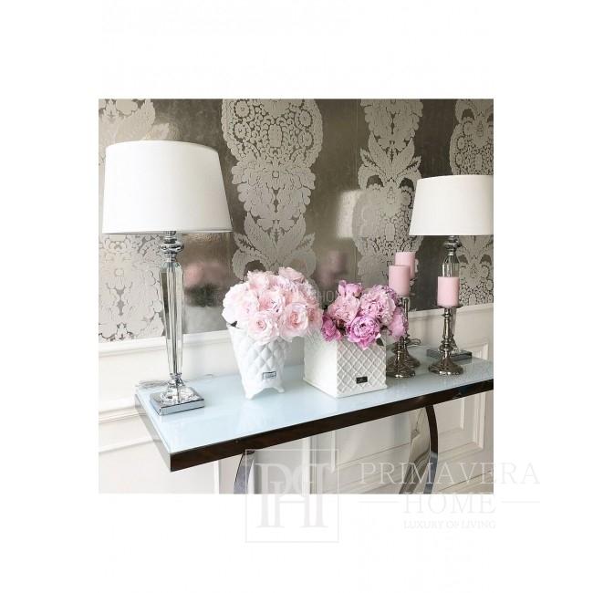 Keramik-Blumentopf weiß Precious Lene Bjerre 15 cm