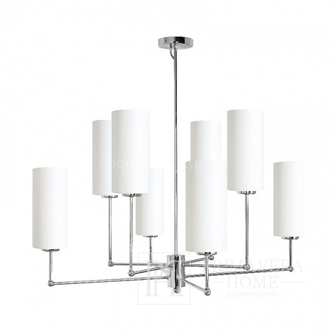 HORACIO white silver chandelier hanging lamp