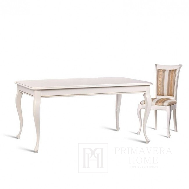 Classic wooden table with folding function JANA