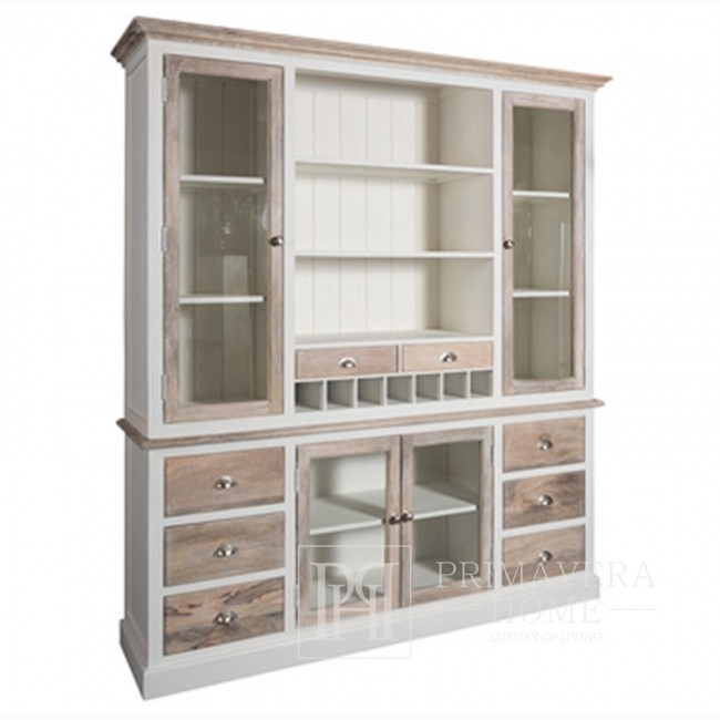 White sideboard large in Provencal style, Hamptons, shabby chic