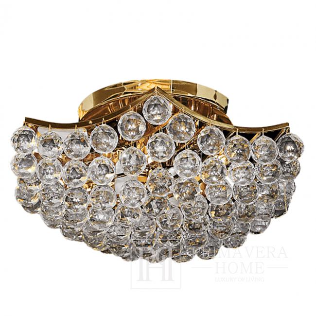 Plafond im Glamour-Stil mit ELITE 6-Kristallen