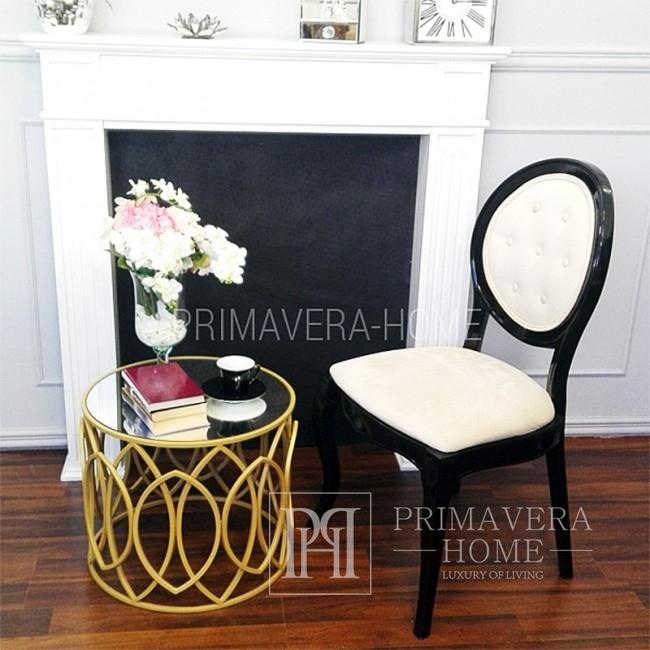 Moderner Holzpolsterstuhl für das Esszimmer der Eliza Lounge
