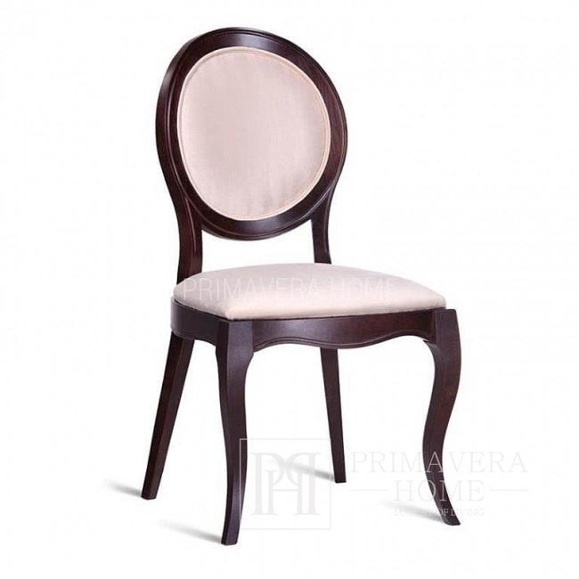 Krzesło drewniane DOROTEA tapicerowane nowoczesne, nowojorskie 51x55x98