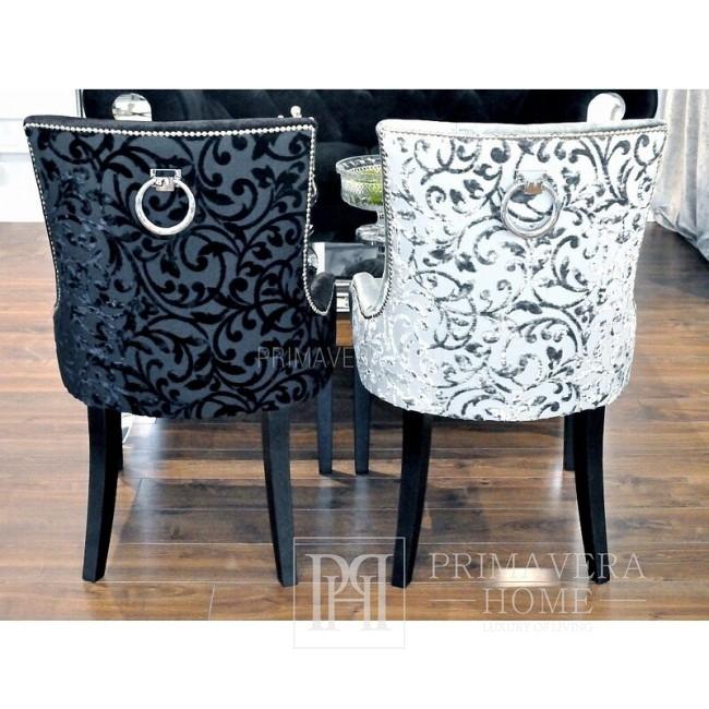 Polsterstuhl mit Klopfer für Esszimmer New York Glamour modern TIFFANY LUX