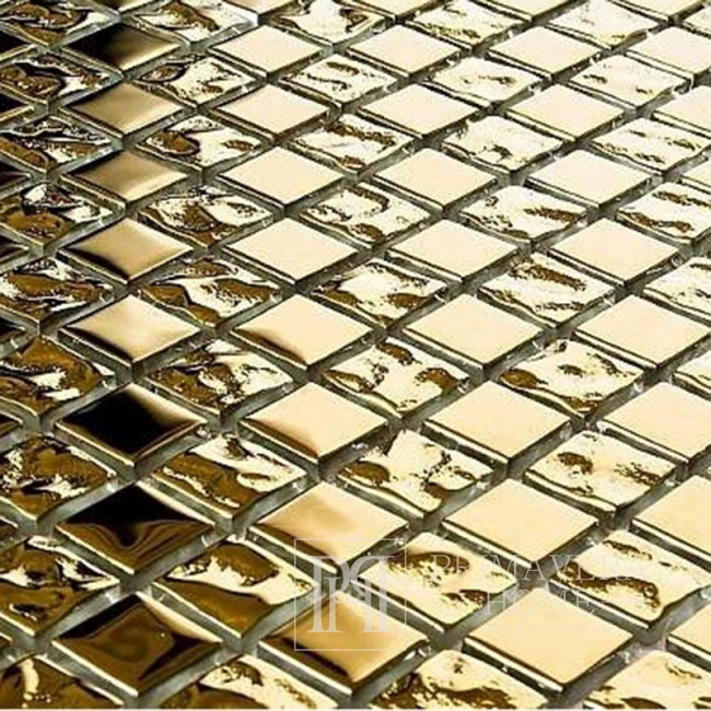 Glass mosaic gold GOLD Lucy