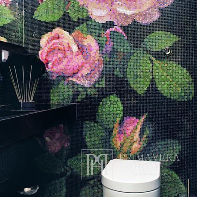 Glass mosaic Springros Nero