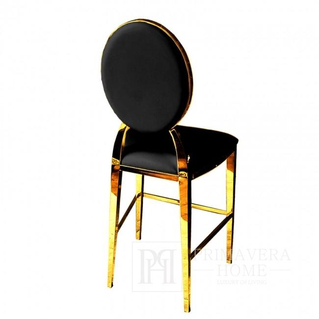 Hoker glamour MEDALION nowoczesny nowojorski 45x53x120 czarny