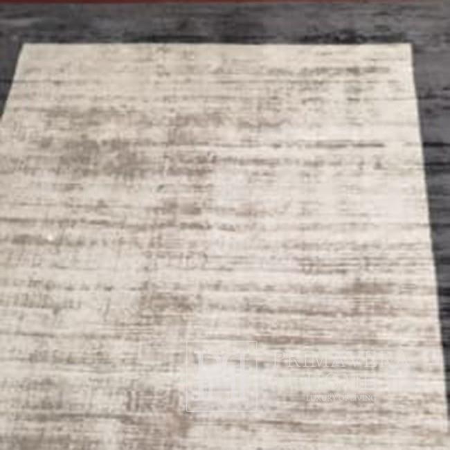 Moderner Glamour-Teppich für das Wohnzimmer in Beige und Schwarz Isandro