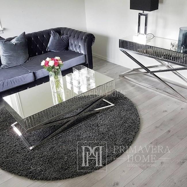 Sofa w stylu angielskim z funkcja spania, nowoczesna pikowana CHESTERFIELD CLASSIC