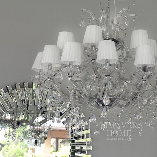 New York glamour crystal chandelier MARIA TERESA S