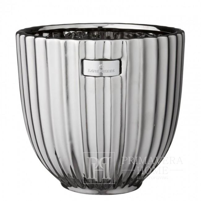 Glamor silver pot Lene Bjerre 18 cm