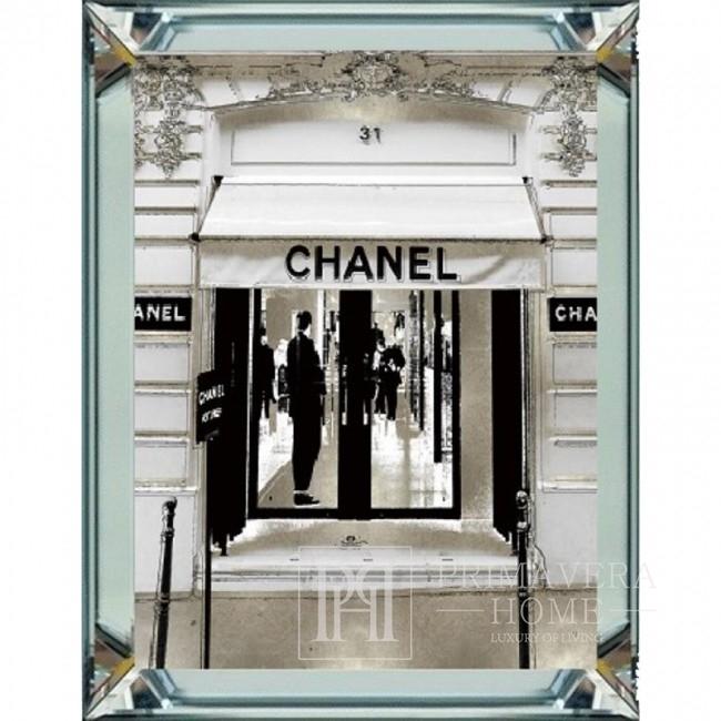 CHANNEL New York Style Spiegelrahmenbild