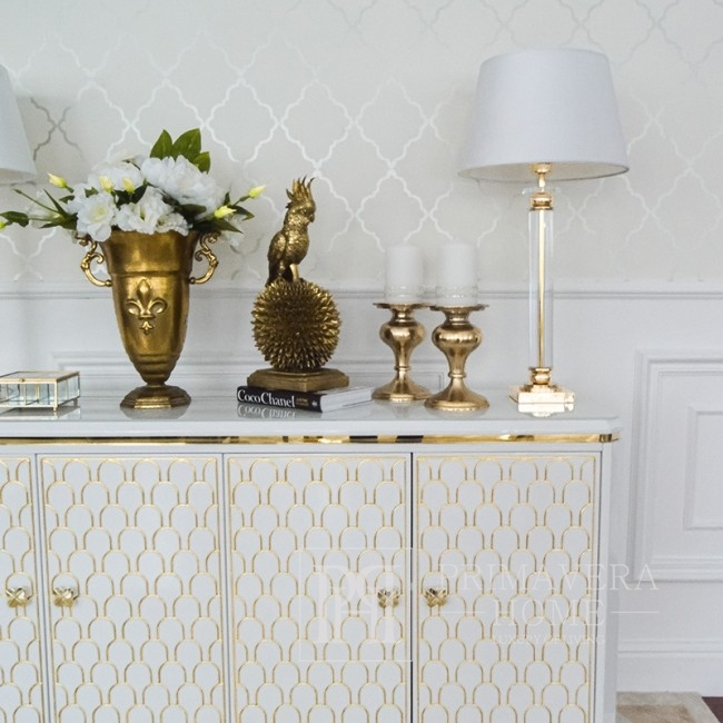 Luxurious, modern, ombré glamor chest of drawers to the GATSBY living room
