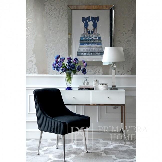 Das Bild im verspiegelten Rahmen stilvolle moderne SCHUHSTILE Amanda Greenwood