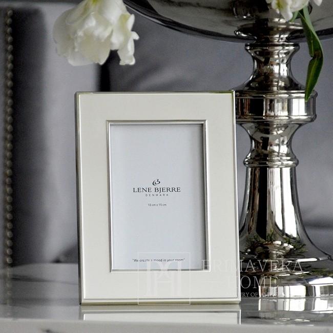 Ramka do zdjęć ze srebrną ramką Lene Bjerre
