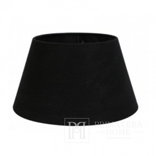 Black lampshade perfect for the New York style, 25 cm