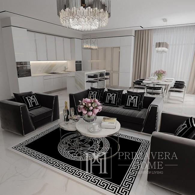 Wohnzimmer New York Glamour Polstersessel für MONTE CARLO