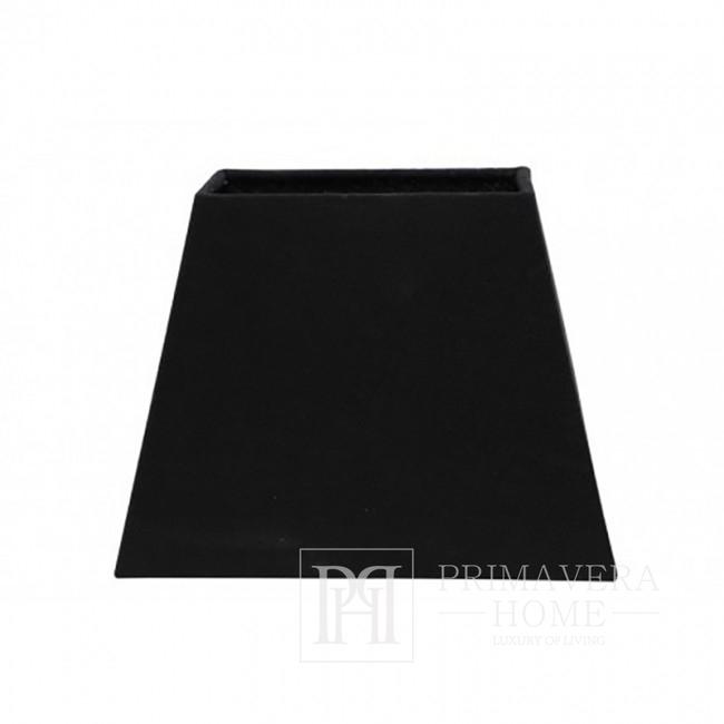 New York black rectangular lampshade MIA
