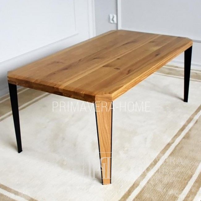 Modern table made of oak Concord