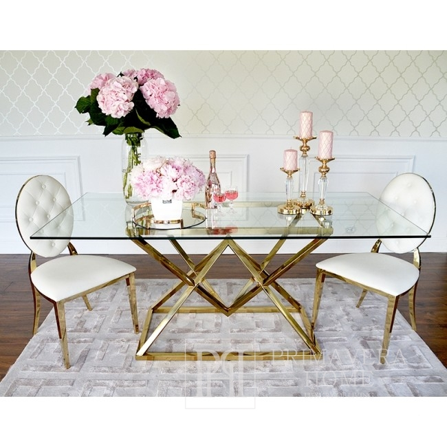Golden glamour table CONRAD GOLD