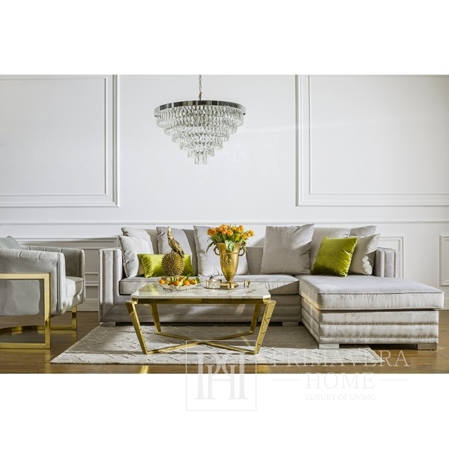 Coffee table for RALPH living room gold