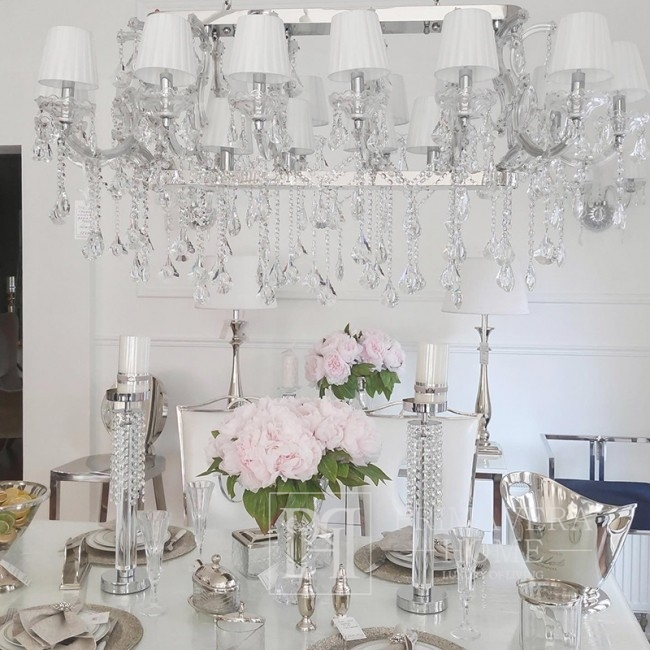 New Yorker Glamour-Kristalllüster Maria Theresia L