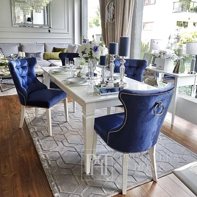 Glamour gepolsterter, gesteppter, moderner Stuhl mit GRETA-Klopfer 97x46x46