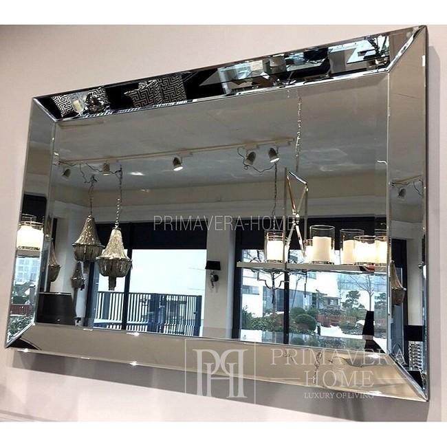 Glamouröser Deko-Spiegel im New Yorker Stil Spiegel in einem LOSSED FRAMEWORK