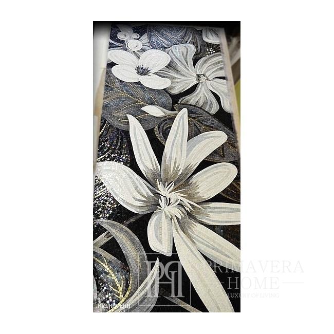 Obraz z Mozaiki szklanej FLOWER