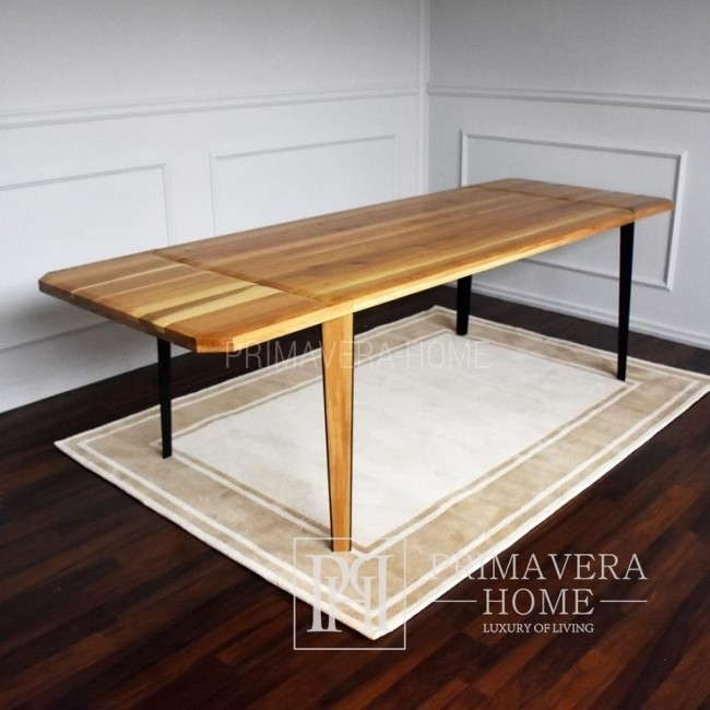 Modern table made of oak Concord black
