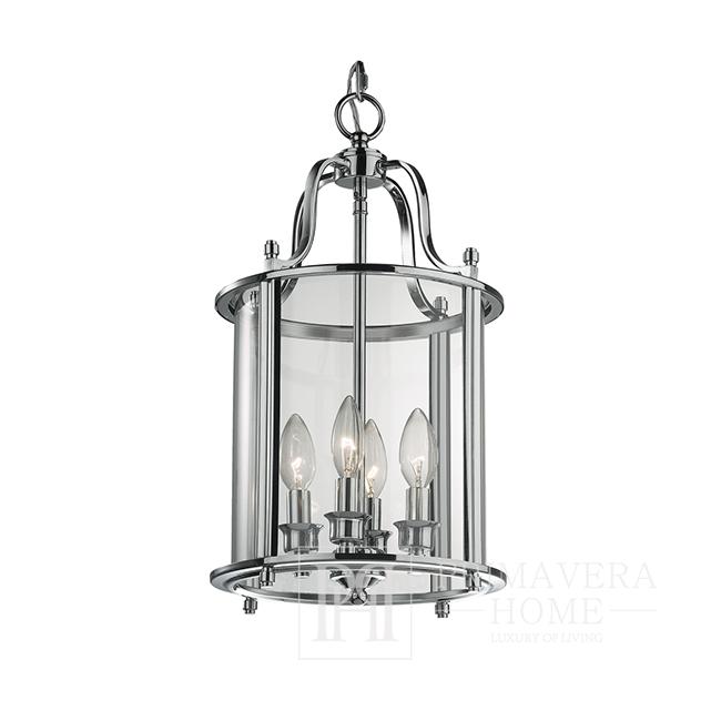 Glamour style chandelier gold, silver, white, black MARTIN
