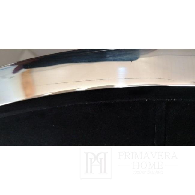 New York Glamour Stuhl modern COSMOPOLITAN schwarz OUTLET
