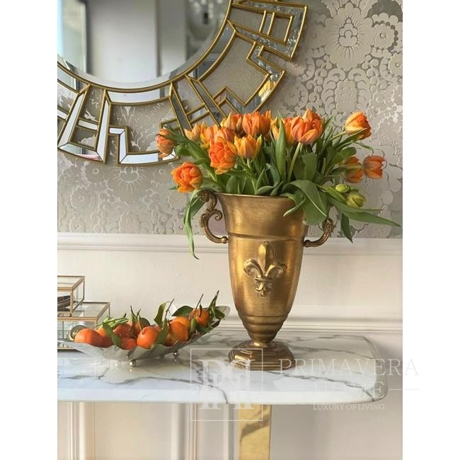 Glamour mirror ELISE New York style decorative 85cm gold