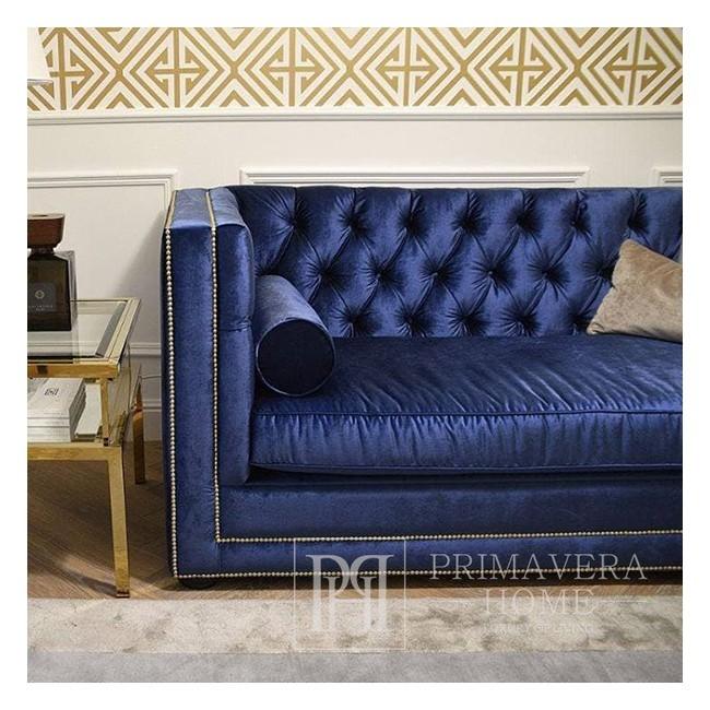 Elegancka gustowna sofa nowoczesna nowojorska rozkładana z funkcja spania MORIS