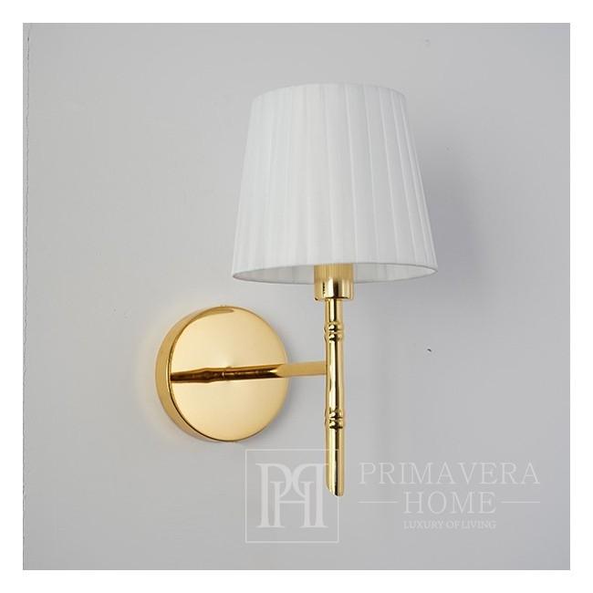 Kinkiet złoty lampa ścienna glamour nowoczesna glamour złota ANGELO K