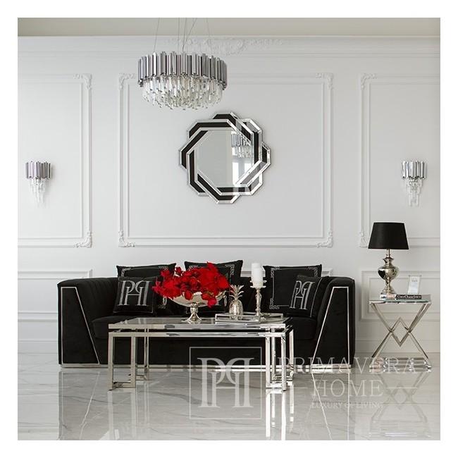Conrad Glamour Beistelltisch Silber 50x50