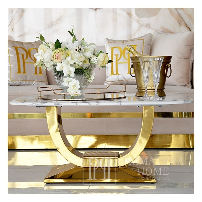 Coffee table for the ART DECO salon gold