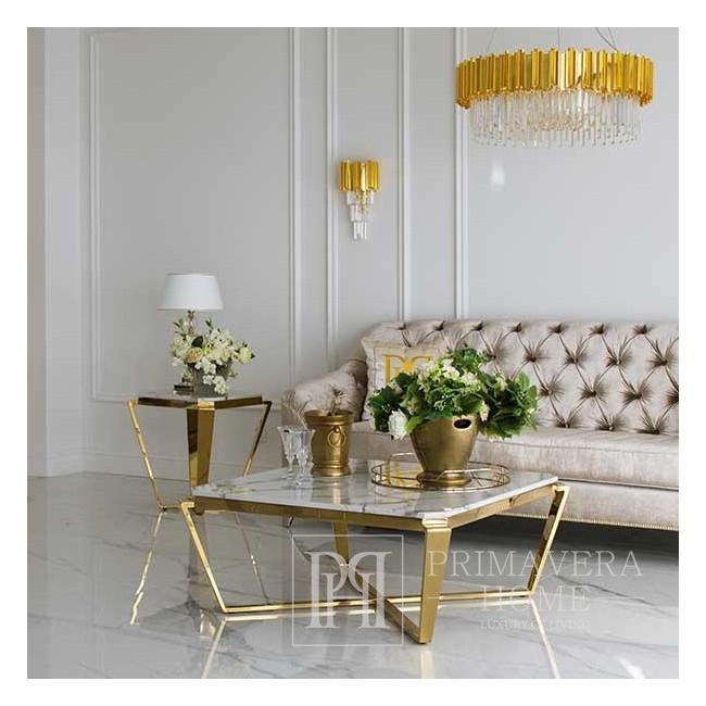Couchtisch für RALPH-Wohnzimmer Gold